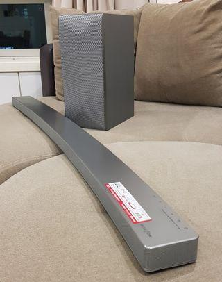 LG LAS855M 4.1CH 360W MusicFlow Curved Sound bar with Wireless Subwoofer