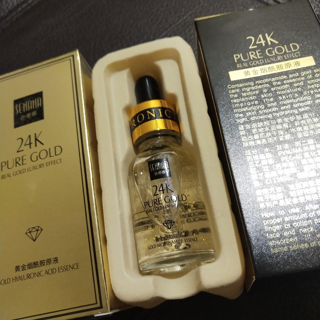 24k Pure Gold Serum