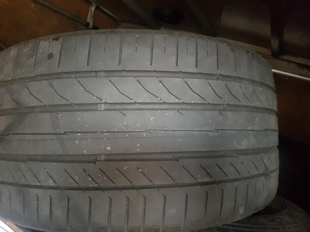 2pcs 265 35 18 conti tyre ...yom 2016