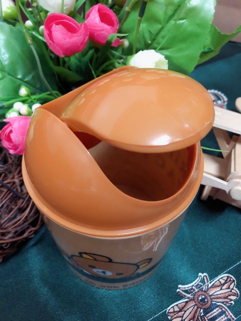 三麗鷗 拉拉熊 迷你垃圾桶 收納桶 置物桶