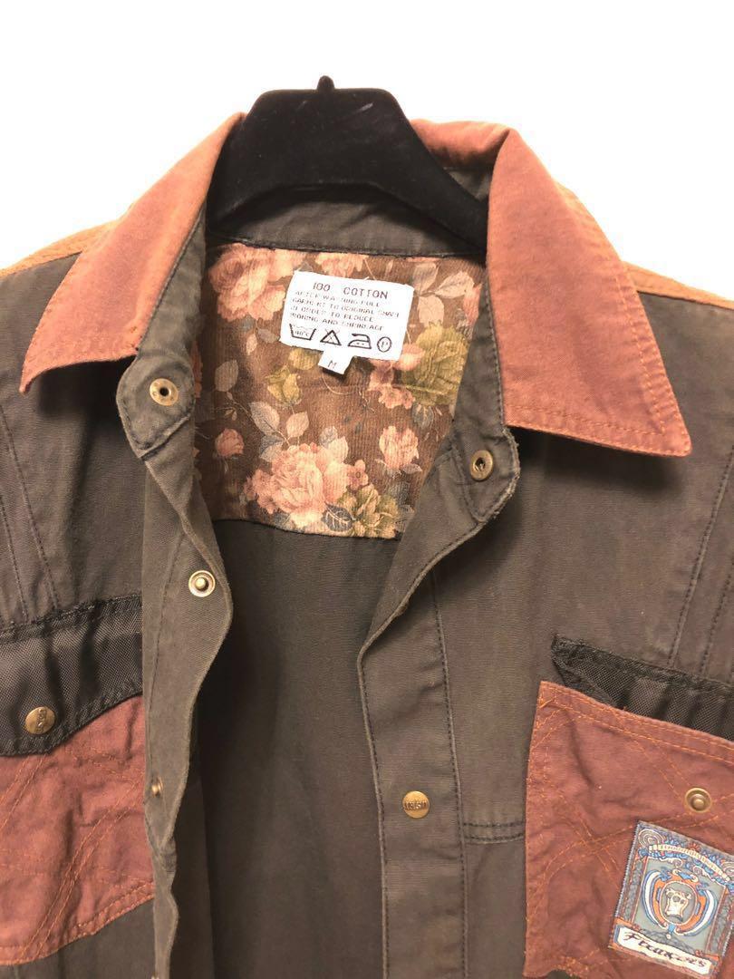 古著大出清 復古帥氣夾克外套 家人的收藏品 保存優良 功超細 男女可穿