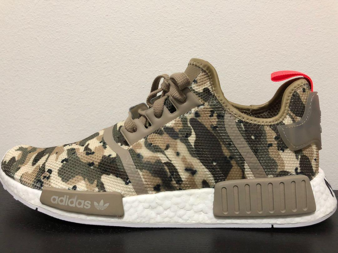 quality design 0acdd 41f11 ADIDAS NMD R1 CLEAR BROWN CAMO PACK (US 11 / UK 10.5 / EUR ...
