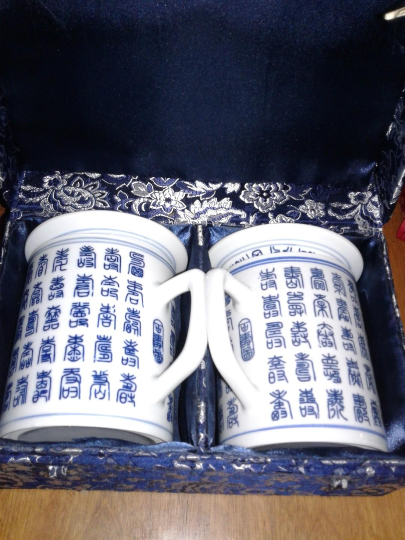 Authentic antique Asian tea set
