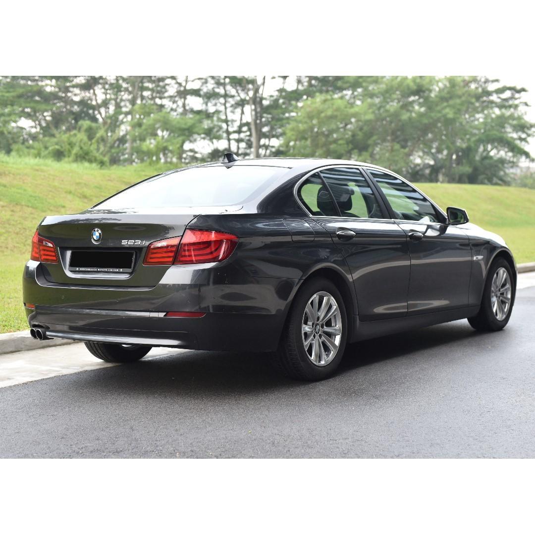 BMW 5 Series 523i Car Rental $510/Week 6mths Lease