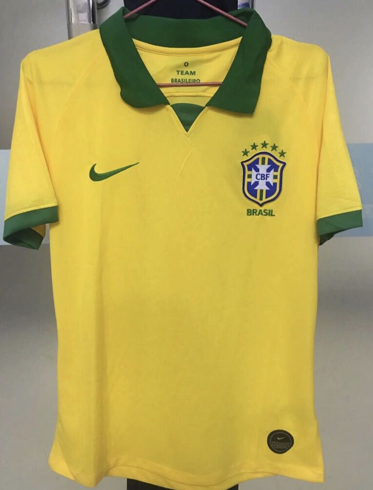 47579154e Brazil Jersey kit Home Away 19/20, Sports, Sports Apparel on Carousell