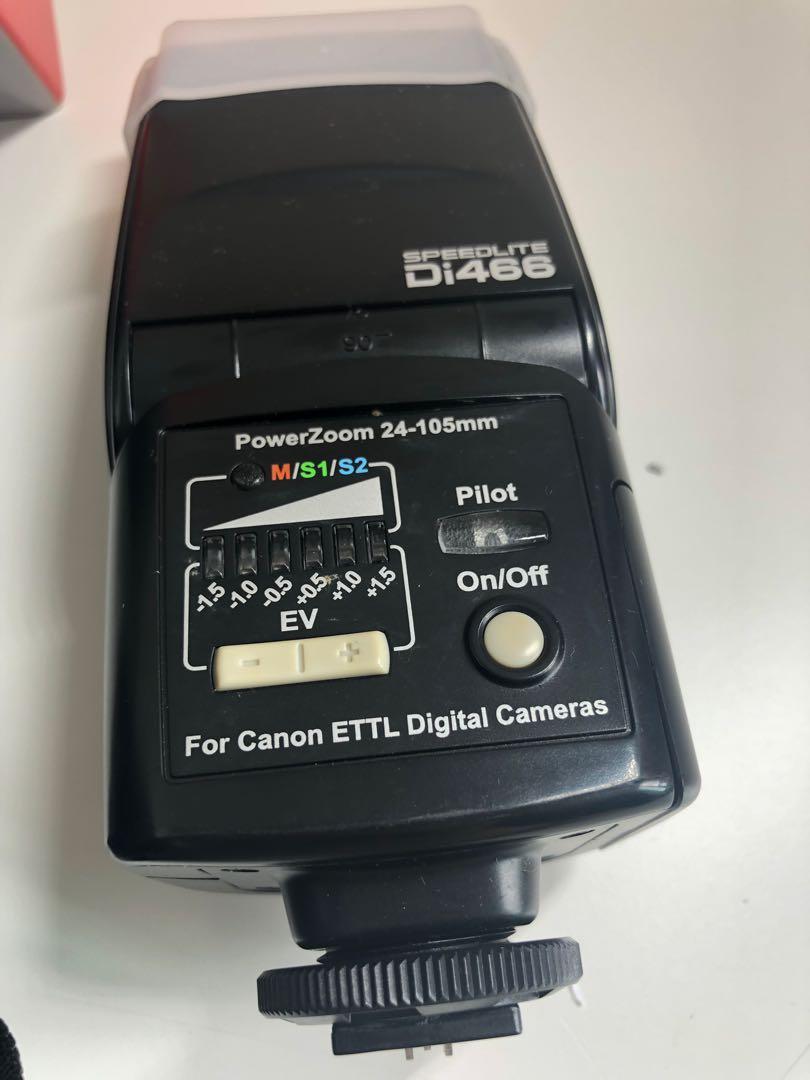🈹Clearance🈹 Canon 400D Kit Set + EF 50mm f/1.8 II + Speedlite Di488