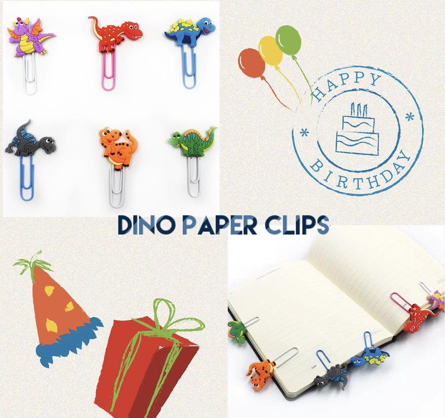 Sold - 🦕🦖Dino Paper Clips