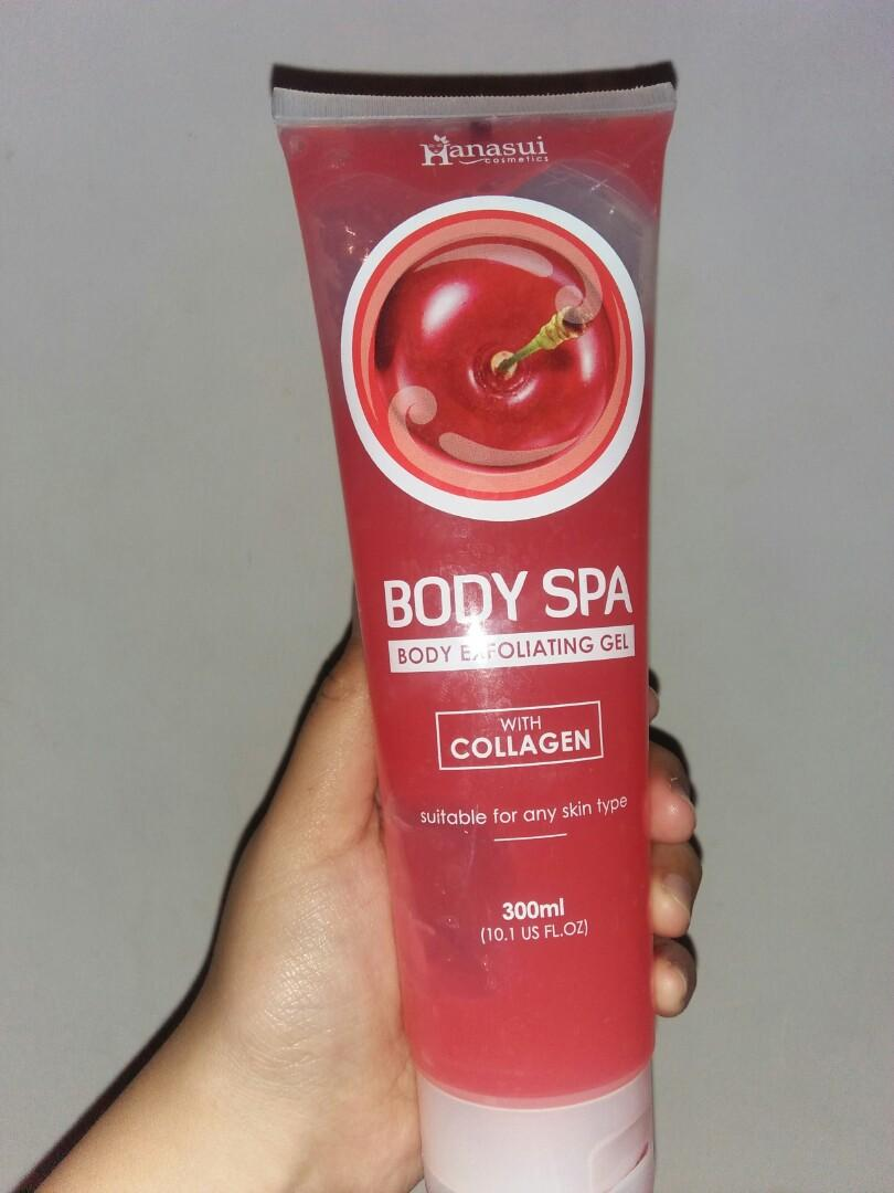 Hanasui body spa exfoliating gel