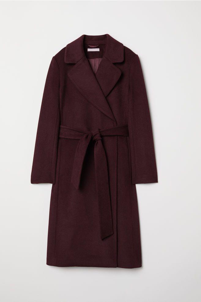 H&M Wool Blend Coat (Brand New)