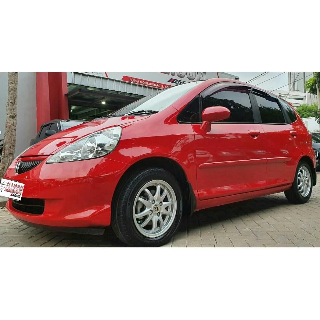 Honda Jazz I-Dsi 1.5 AT 2007 Merah Dp 27,9 Jt No Pol Ganjil