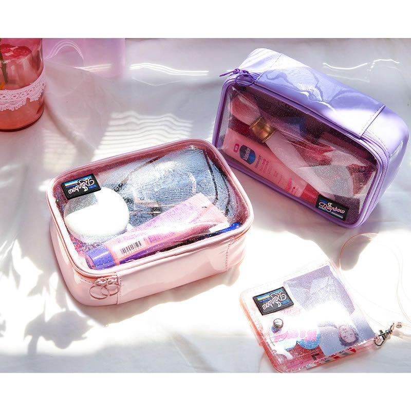 [Instock] Secret Sparkle [Pink] Makeup Pouch By Milkjoy