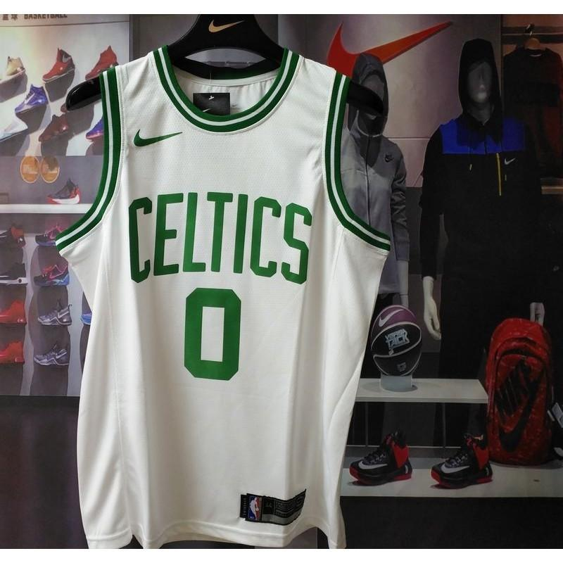 promo code 0dd7e 95c41 Jayson Tatum Nike swingman NBA jersey Boston Celtics on ...