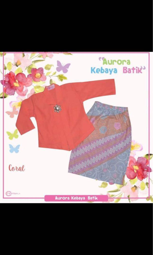Kebaya (Muslim costume) for toddler girl 2yrs old