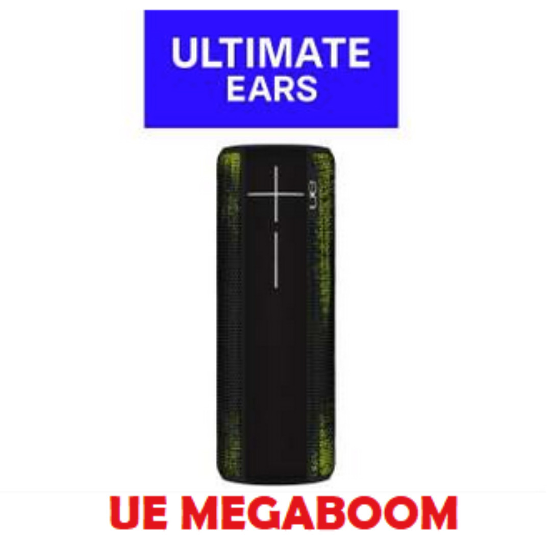 (Local warranty)Ultimate Ears MEGABOOM Neon Frost Wireless Mobile Bluetooth  Speaker Waterproof and Shockproof