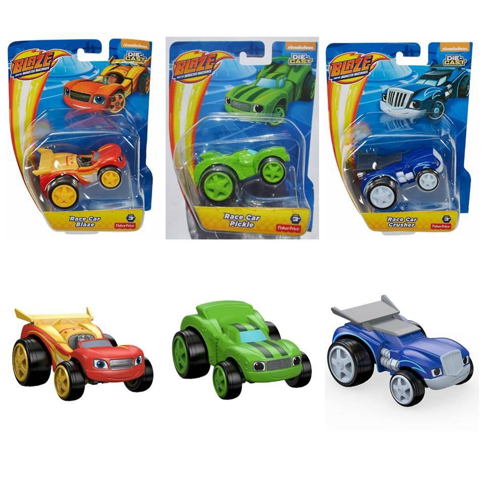 Looking for Blaze & the Monster machines (Race car series)