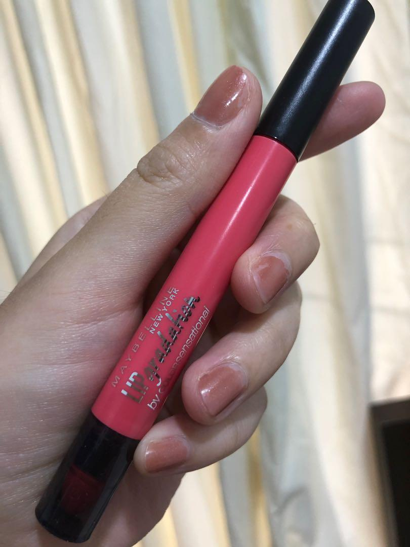 Maybelline lip gradation coral 1