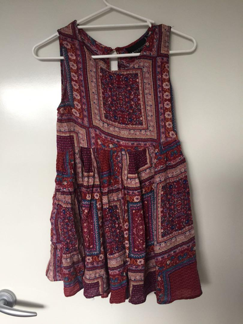 Minkpink pattern dress #swapau