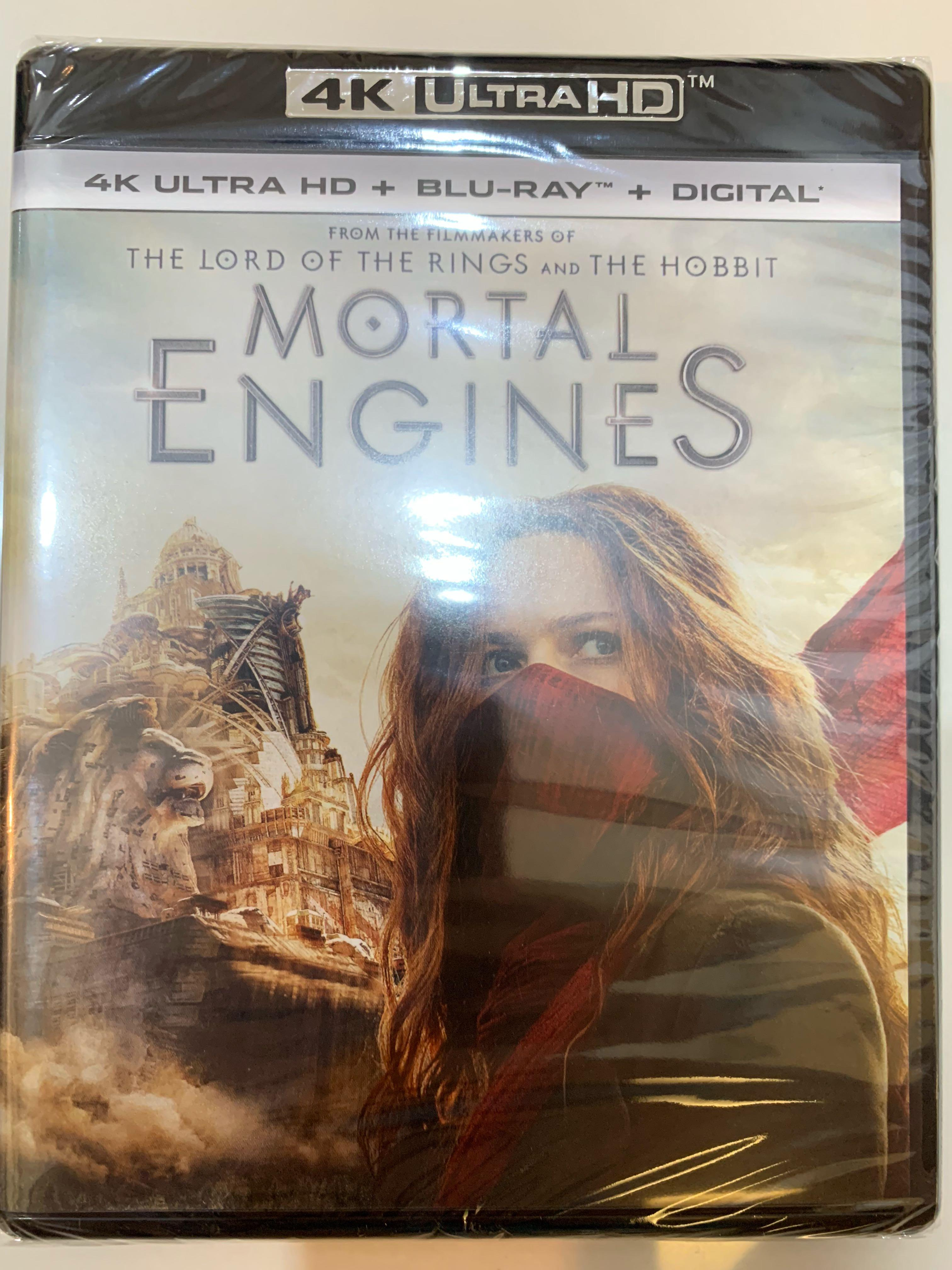 Mortal Engines 4K Ultra HD + Blu-Ray, Music & Media, CDs