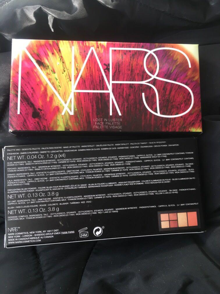 NARS lost in luster
