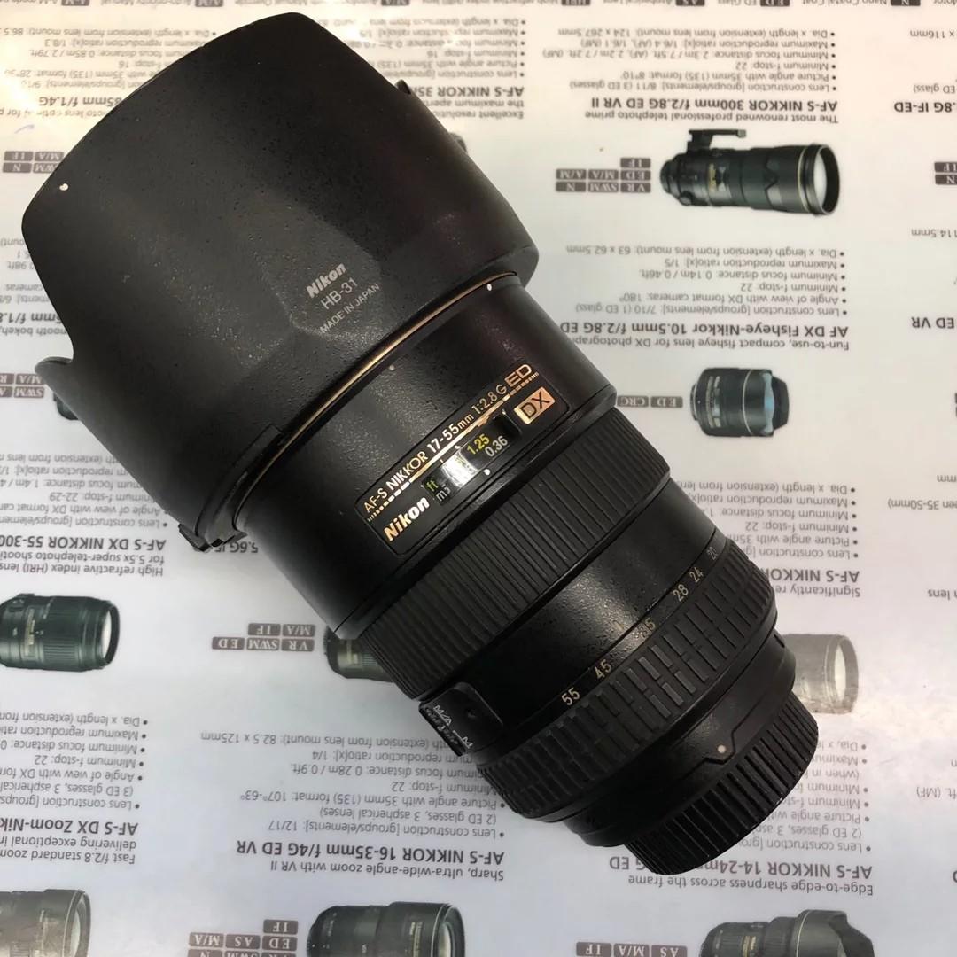 Nikon AF-S 17-55mm F2.8G ED DX