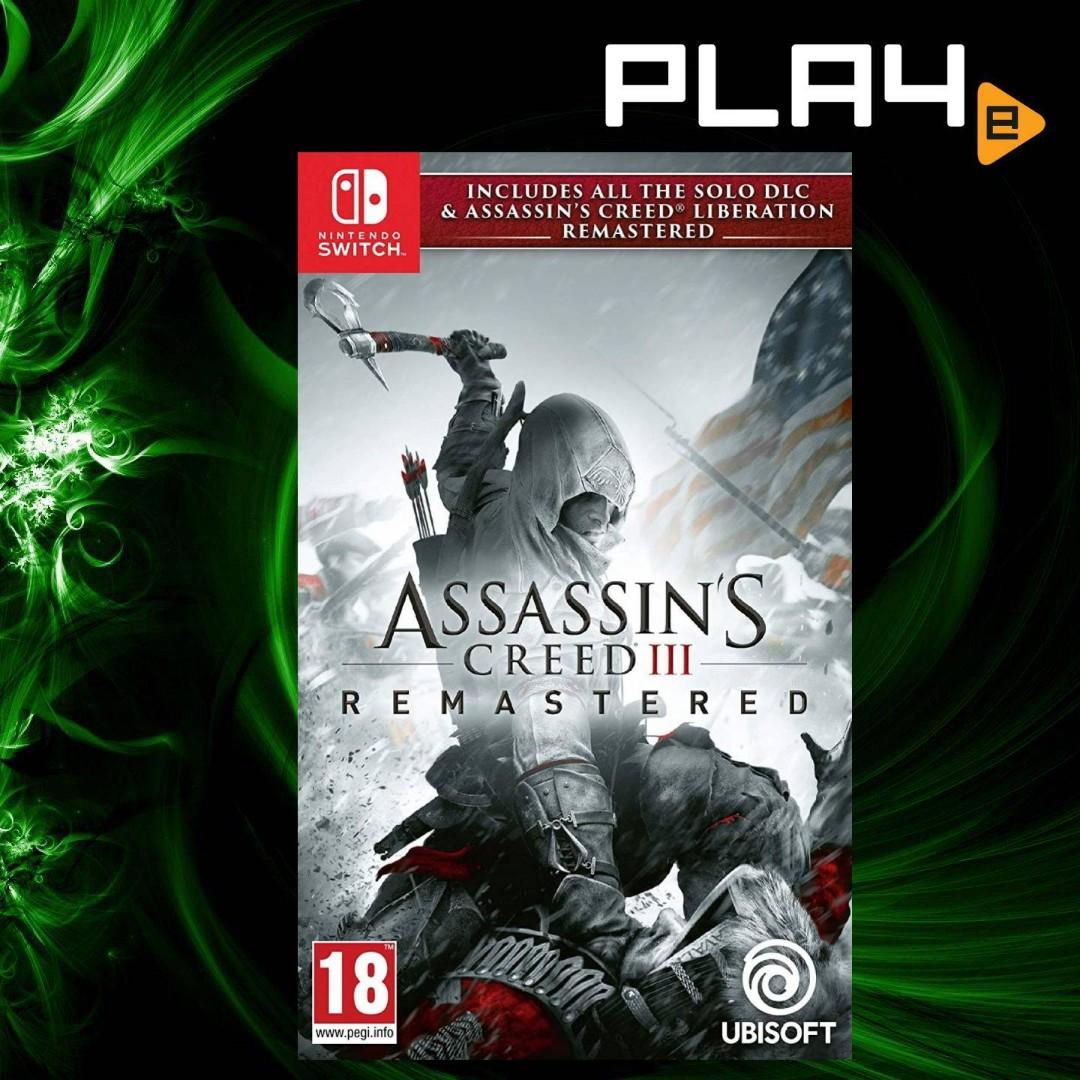 Nintendo Switch Assassin S Creed Iii Remastered Brand New Toys
