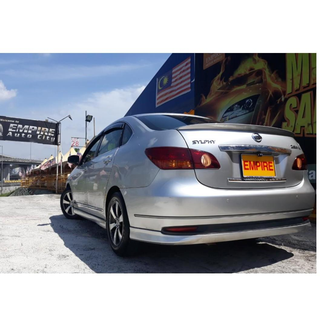 NISSAN SYLPHY COMFORT 2.0 (A) CVTC IMPUL EDITION !! NEW FACELIFT !! FULL BODYKIT / FULL LEATHER SEATS / REVERSE CAMERA AND ETC !! PREMIUM HIGH SPECS !! ( PXX 6388 ) 1 CAREFUL OWNER !!