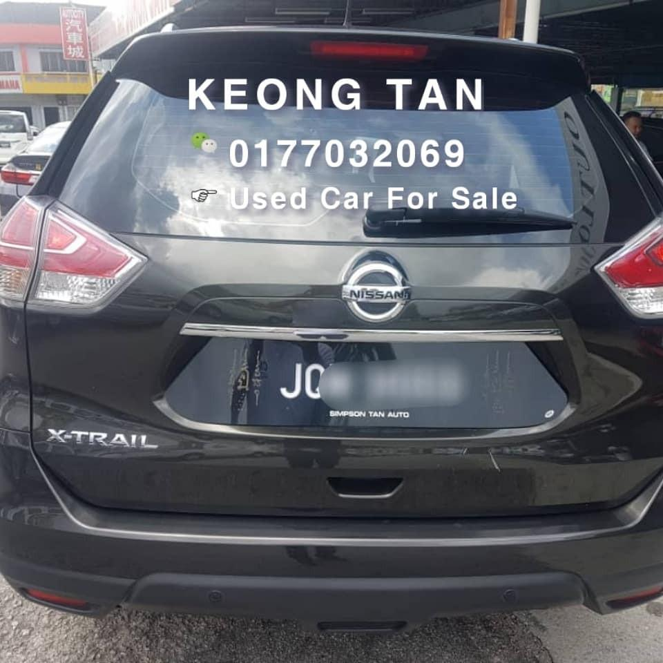 NISSAN XTRIAL 2.0AT Facelift‼️Full Spec‼️ 2015TH 7 SEATER🎉JohorPlate🚘 OfferPrice!! Rm75,500🎉 Monthly Installment Rm910 Only🎉Lowest Price InTown🎈