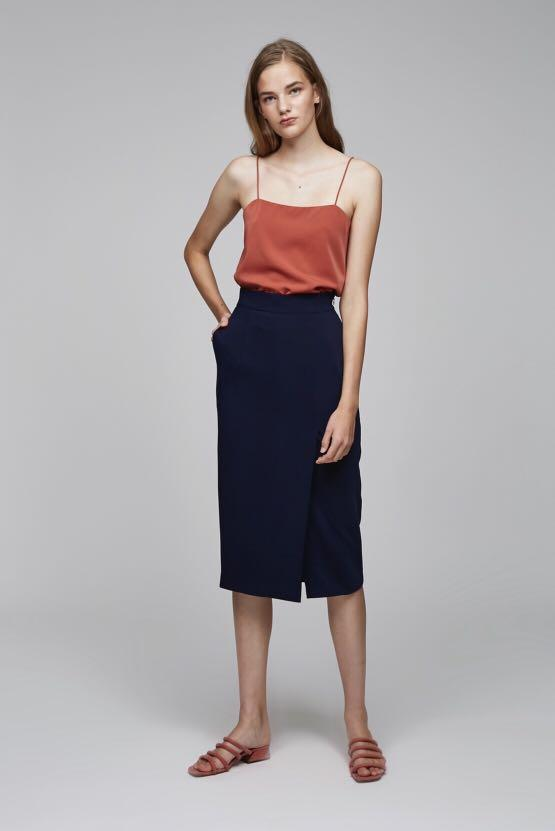 Our Second Nature Midi Pencil Skirt