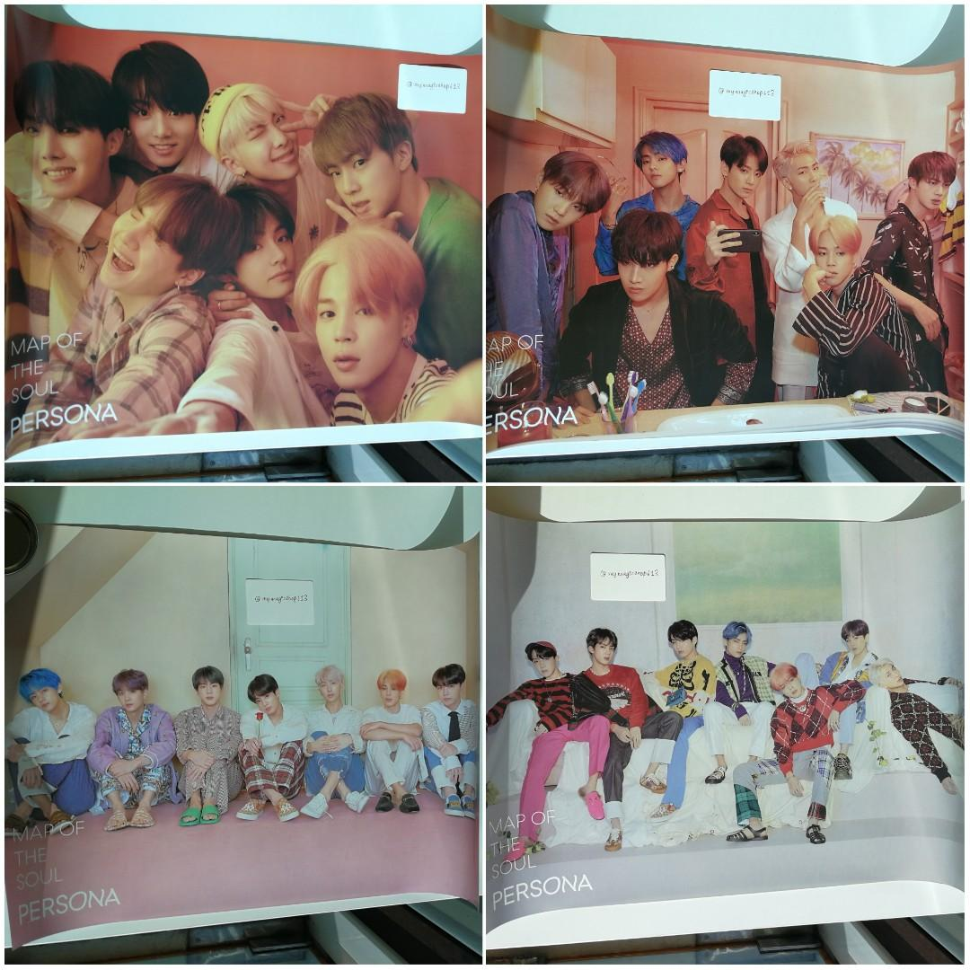 <SOLD> BTS PERSONA OFFICIAL POSTER