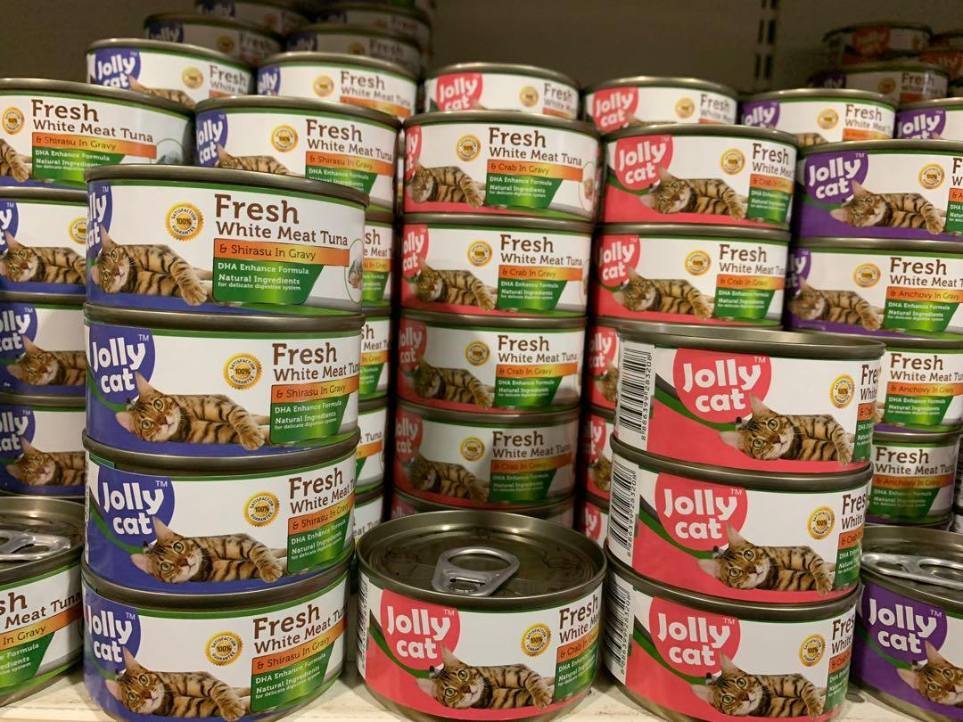 Selling Cheap! JOLLY CAT FRESH - 24x 80grams  for $25