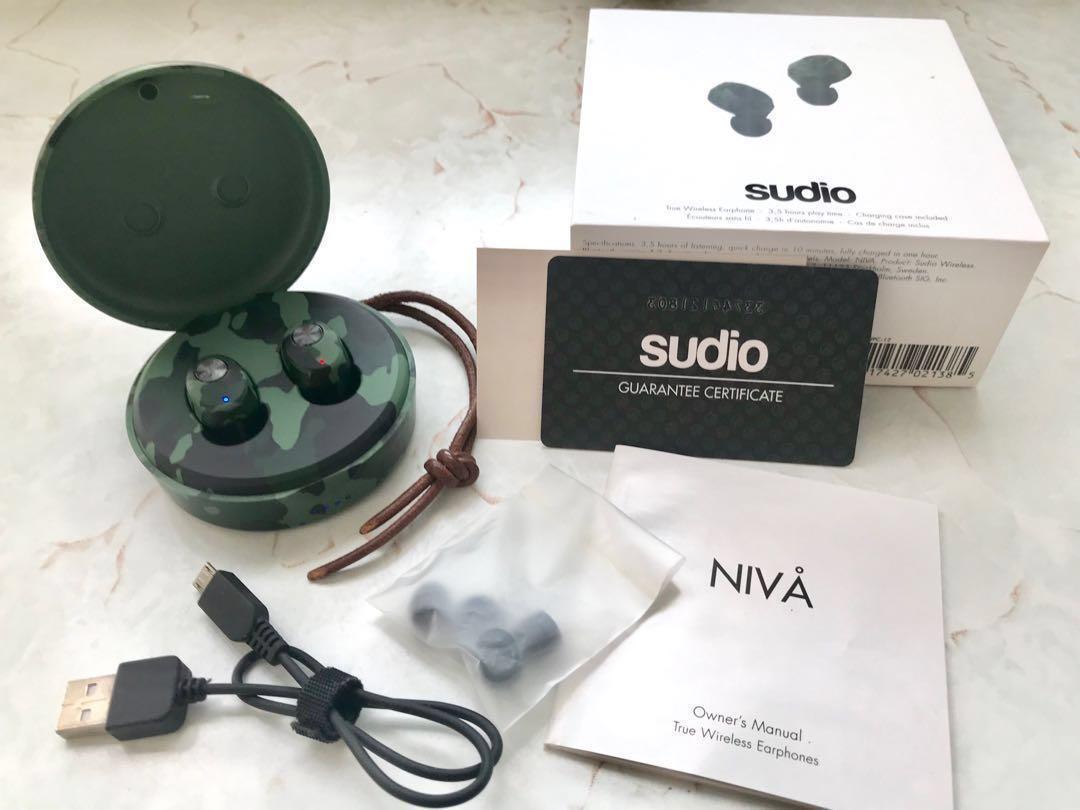 Sudio NIVA 真無線藍牙耳機(迷彩特別版)