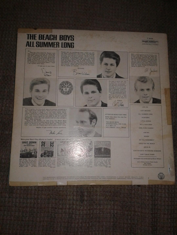 The beach boys all summer long record