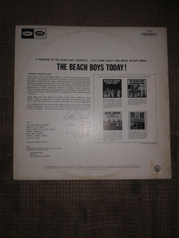 The beach boys today record
