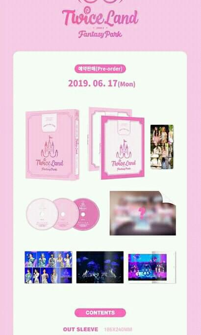 TWICE - TWICE 2ND TOUR 'TWICELAND ZONE 2:Fantasy Park' DVD - PREORDER/NORMAL ORDER/GROUP ORDER/GO + FREE GIFT BIAS PHOTOCARDS (1 ALBUM GET 1 SET PC, 1 SET HAS 9 PC)