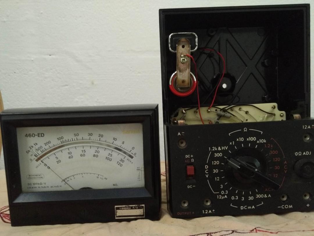 Reduced price* Vintage Sanwa Analog Multimeter, Vintage
