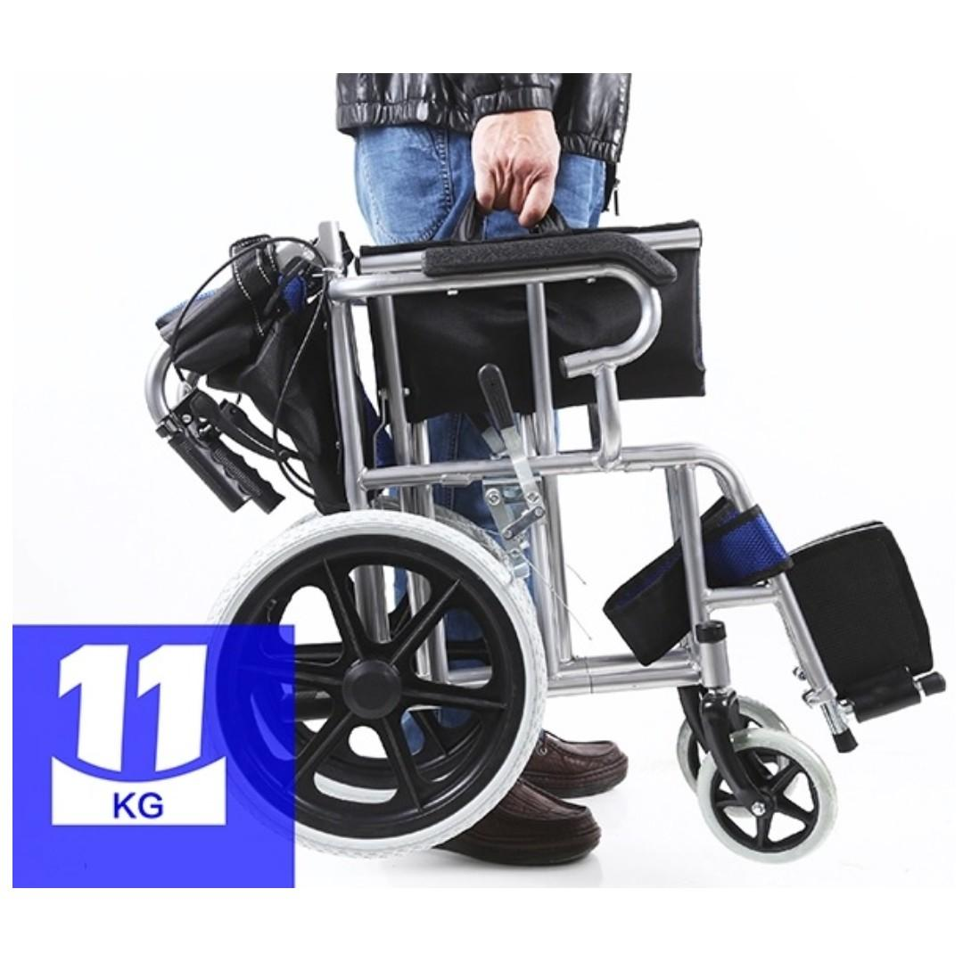 WHEELCHAIR- BRAND NEW, LIGHT WEIGHT AND FOLDABLE TYPE