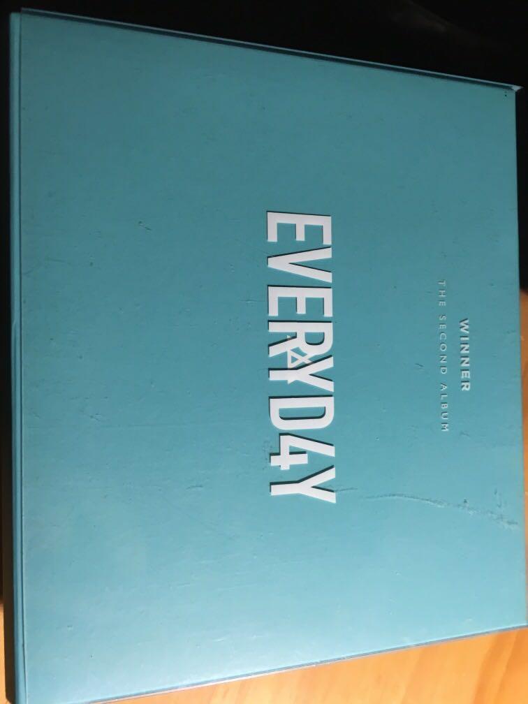 Winner second album Everyday