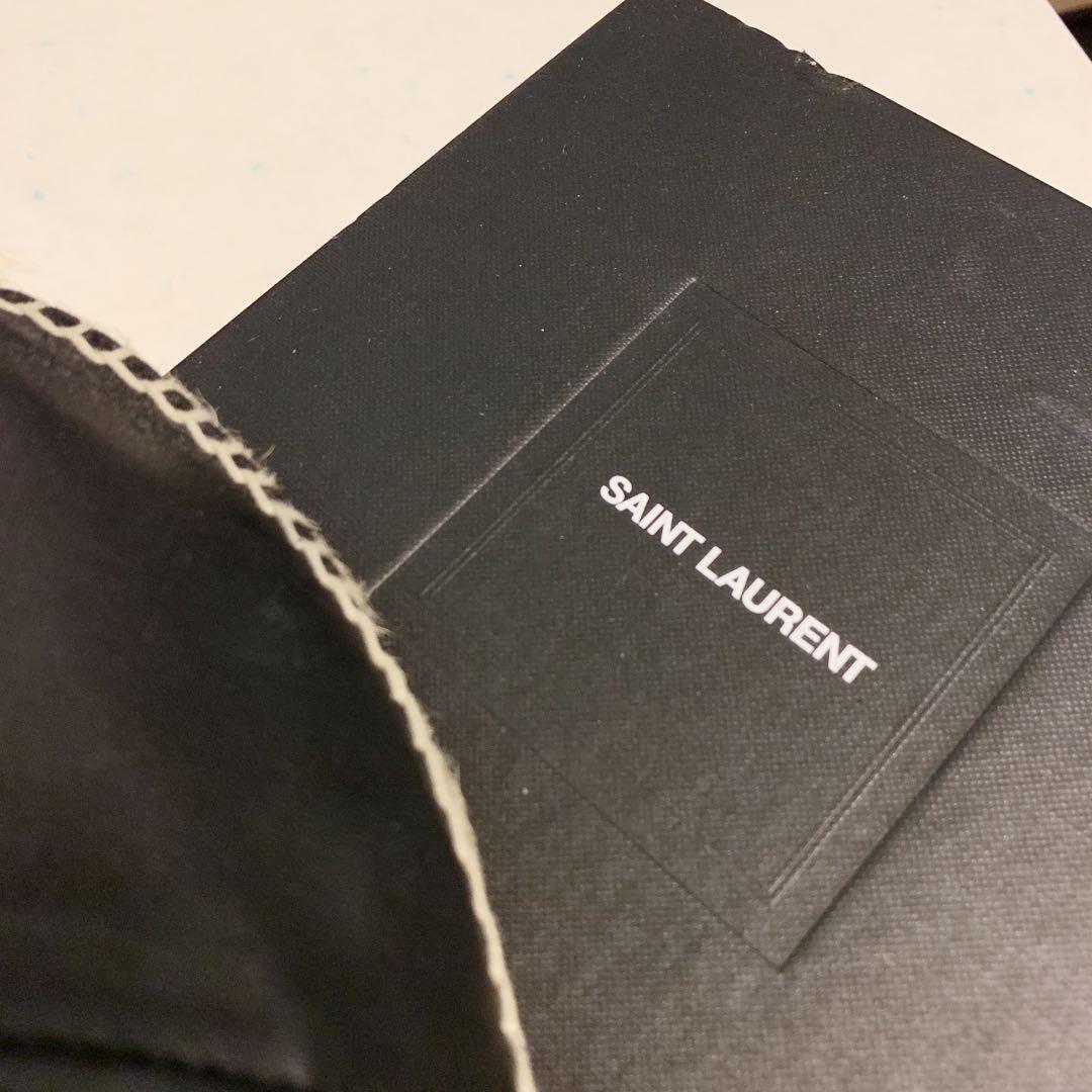 YSL真皮草鞋(證書證明) espadrille black