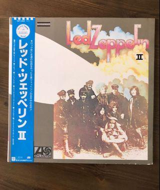 Led Zeppelin - II Japan LP 1988
