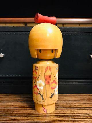 日本傳統工藝 木芥子娃娃