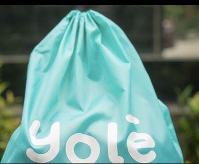 Yole drawstring bag