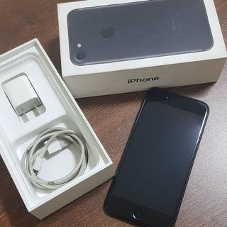iphone 7 128G 霧黑 蘋果手機 功能正常 配件如圖 電池100