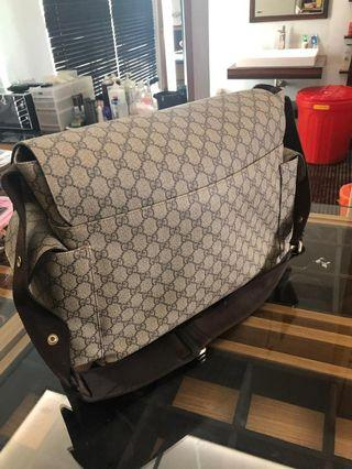 Gucci Diapers bag authentic / original