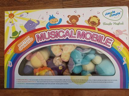Musical mobile for baby #JunePayDay60