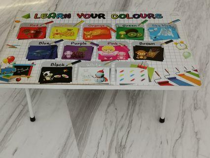 Foldable activity table #JunePayDay60