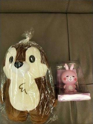 花栗鼠+擺頭兔