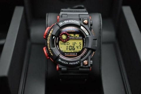 100% Authentic new Casio G-Shock Magma Ocean 30th Anniversary Frogman frogman GWF-1035F-1 Watch LE Made in Japan With warranty