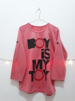 "BAJU ""BOY IS MY TOY"" #maudandan"