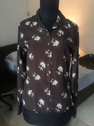 ESPRIT chic office blouse, blus kerja kantor