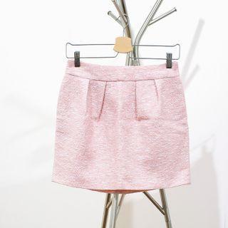 Zara Tweed Tulip Skirt